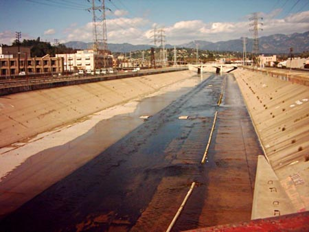 East of the Los Angeles River