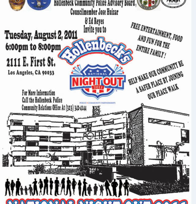 National Night Out: A stand against crime