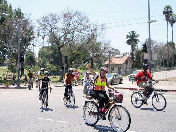 Ganan terreno las sendas para bicicletasPara que las calles sean más seguras