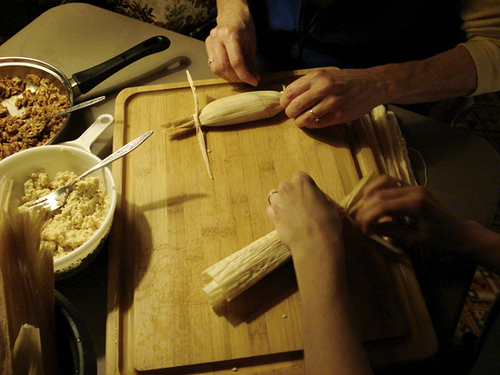 Turkey and Tamales: Thanksgiving with a Twist