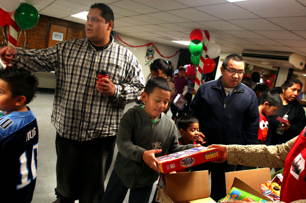 Christmas Comes Early for Thousands of Boyle Heights Kids