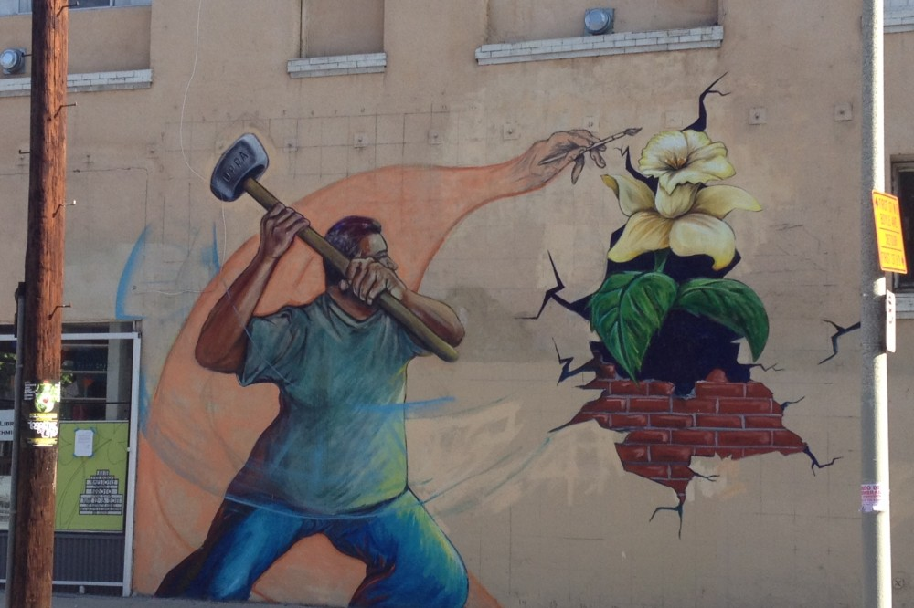 With efforts toward a new mural ordinance, artists see hope for a resurgence of murals in Boyle Heights