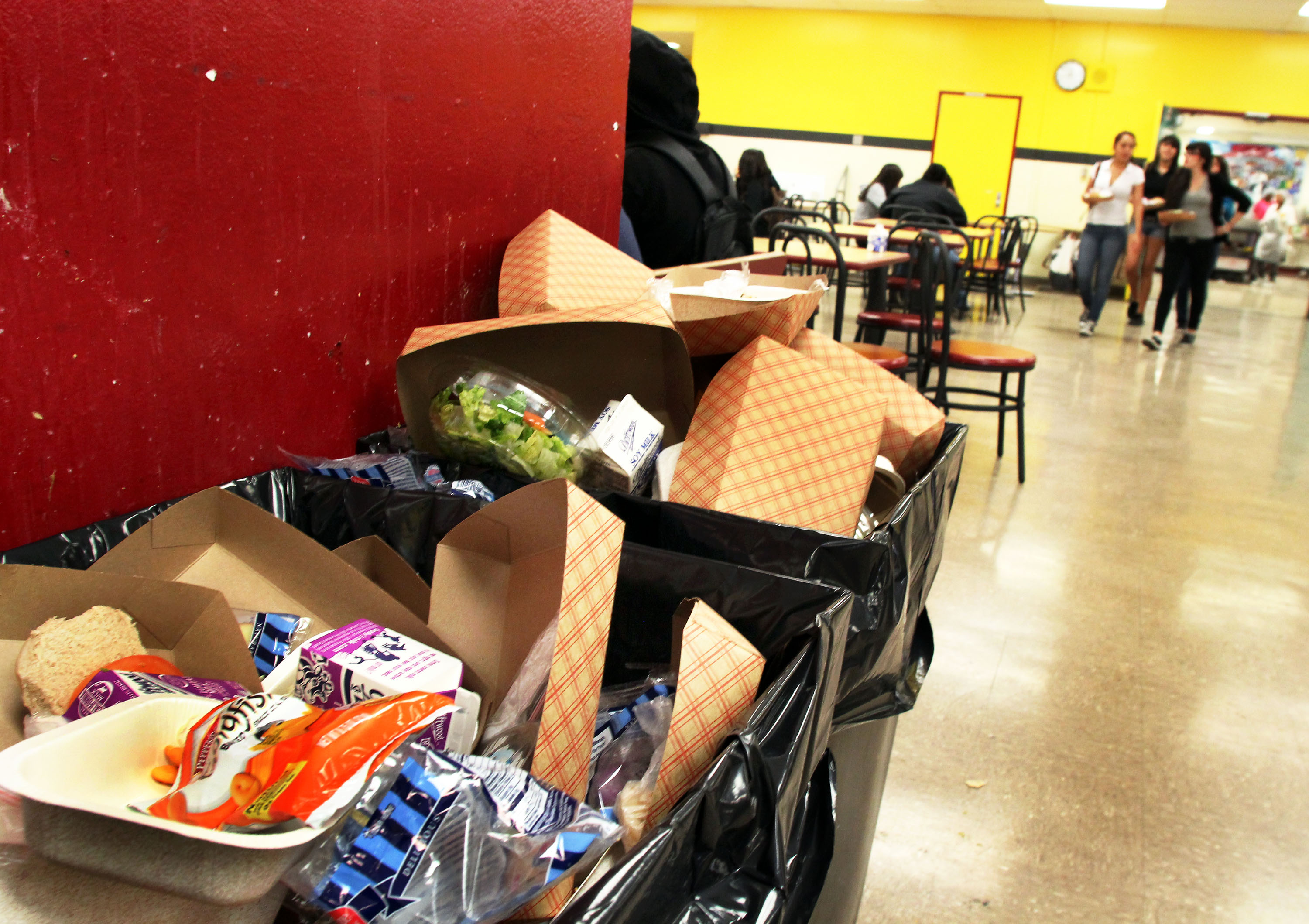 Healthier school lunch draws mixed reactions - Boyle Heights