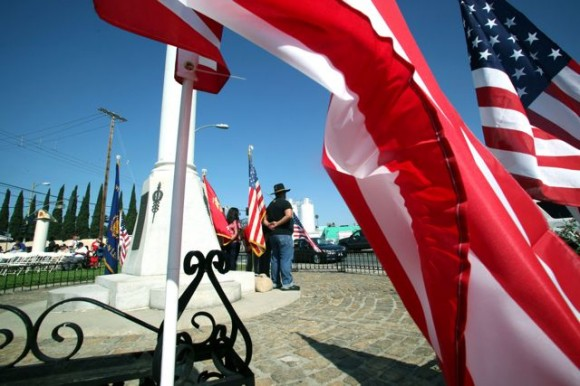 Veterans, families and community members observe Memorial Day in Boyle Heights