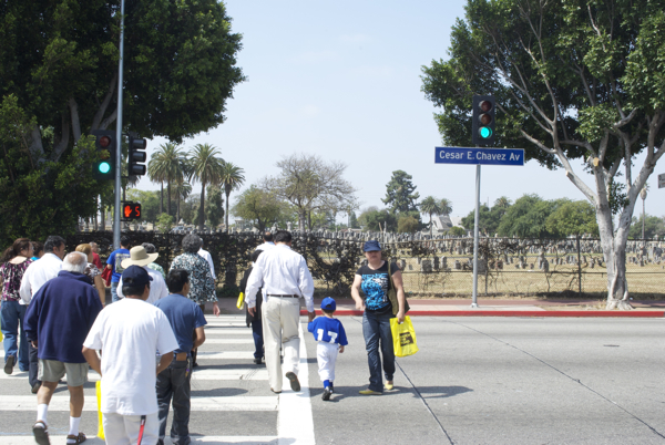 After 30 years, a Boyle Heights intersection gets its traffic light