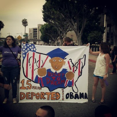 President Barack Obama's immigration announcement provides immediate relief for many young immigrants in Boyle Heights
