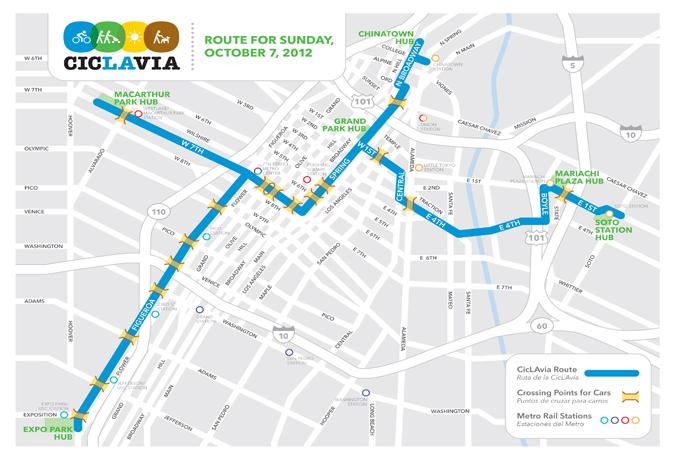 La nueva ruta de CicLAvía se adentra en Boyle Heights