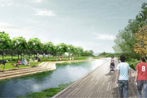 Imaginemos un parque en Piggyback Yard: Ambientalistas y planificadores dan forma a la idea