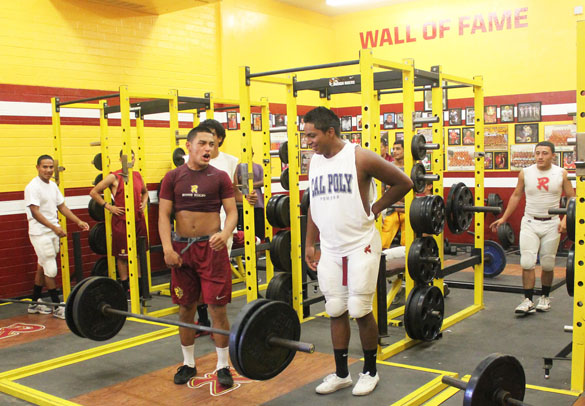 Roosevelt weight room