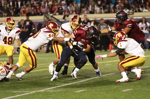 Slideshow: Bulldogs defeat Rough Riders 7-0 in East L.A. Classic