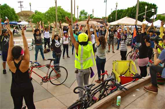 Riders pedal-push for unity and raise awareness about police brutality