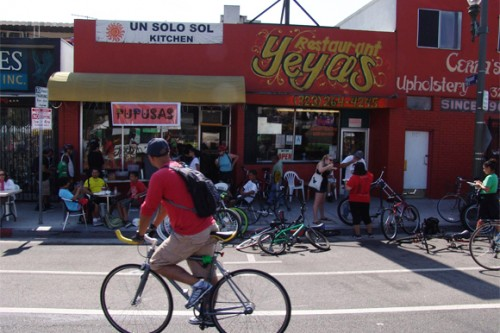 Slideshow: CicLAvia rolls through Mariachi Plaza