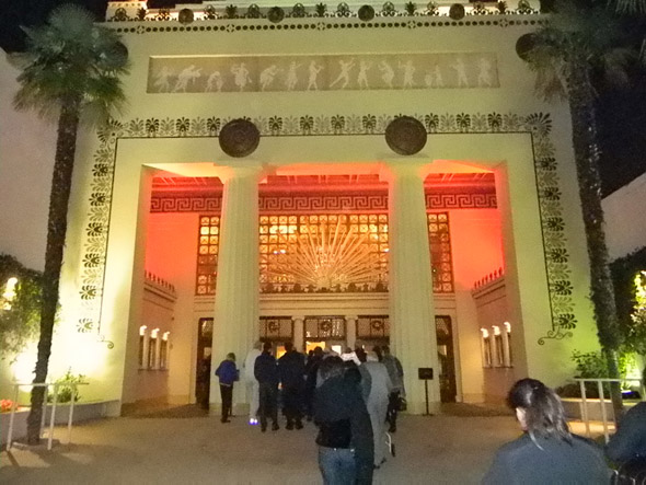 The entrance to the Alex Theatre in Glendale. Photo by Yazmin Nunez.