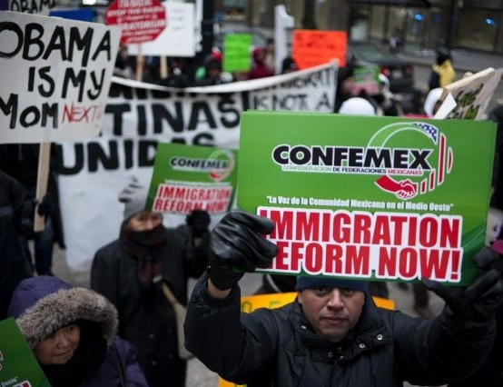 Senate reveals immigration reform plan:<em> Undocumented would have to wait several years to get citizenship</em>