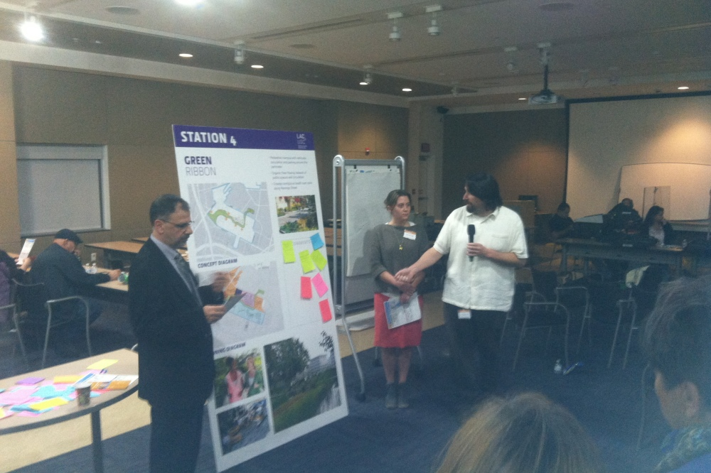 Community reviews potential redevelopment plans for LAC+USC Medical Center site