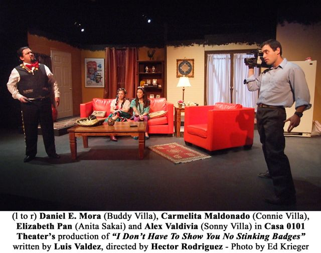 Last weekend for 'I Don't Have To Show You No Stinking Badges' at Casa 0101 Theater