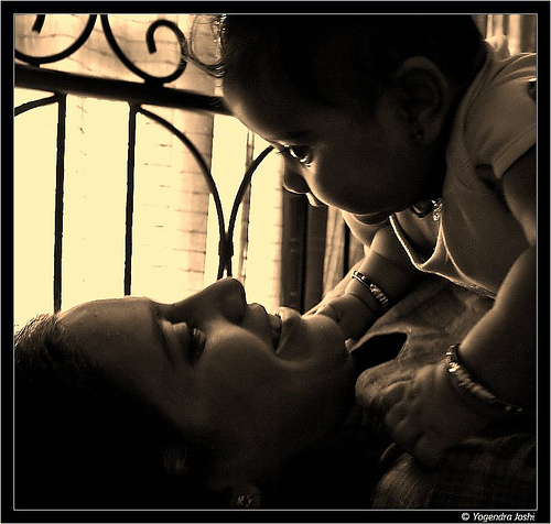 """This month's 'Capture It' Photo Contest Theme is: """"A Mother's Love"""""""