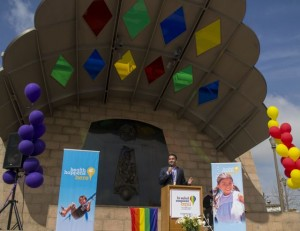 White House LGBT liaison Gautam Raghavan was a guest speaker at the Boyle Heights LGBT Forum. Photo by Freddy Monares