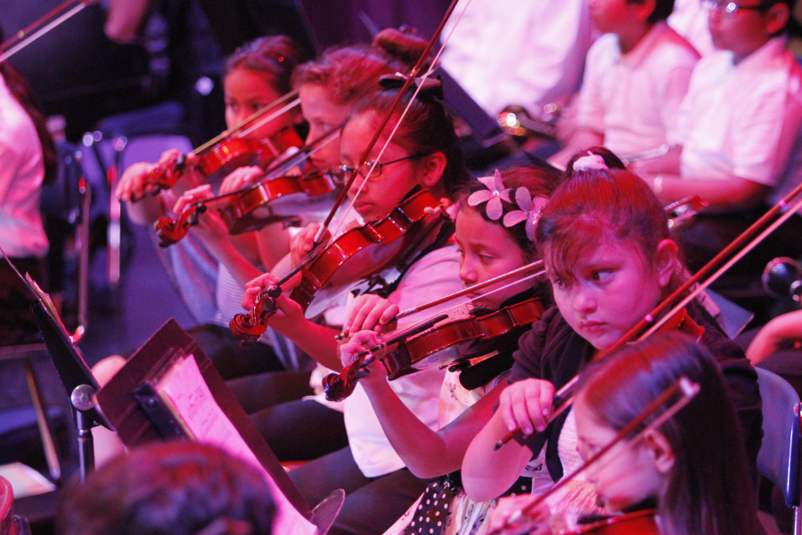 Boyle Heights Community Youth Orchestra debuts concert