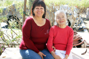 Martha Diaz who is her 86-year-old mother's full-time caregiver, says seniors in BH lack resources.Photo by Emily Ochoa.
