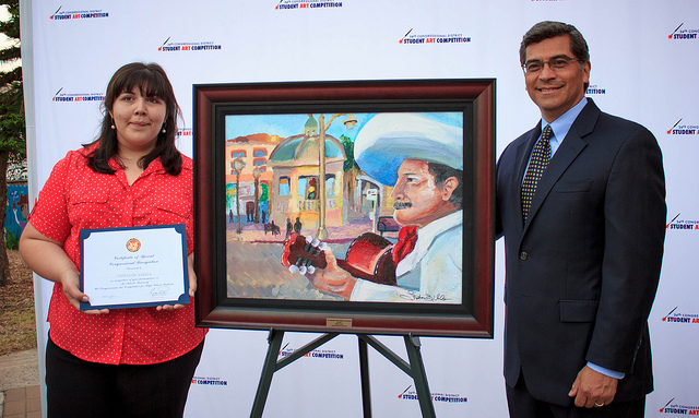 Boyle Heights Beat youth artist receives first place in 34th Congressional District Student Art Competition