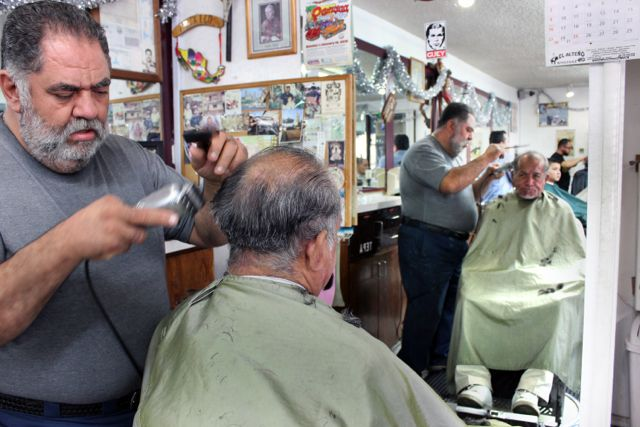 A Taper Cut A Shave And A Joke At Tepas Barbershop The Haircut
