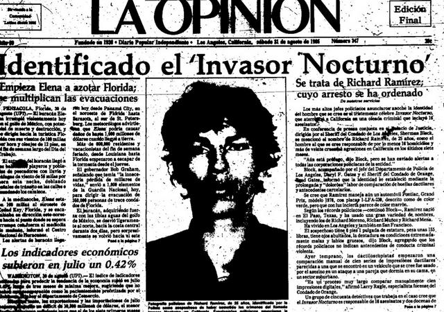 Participant remembers 'Night Stalker' Richard Ramirez capture in East LA