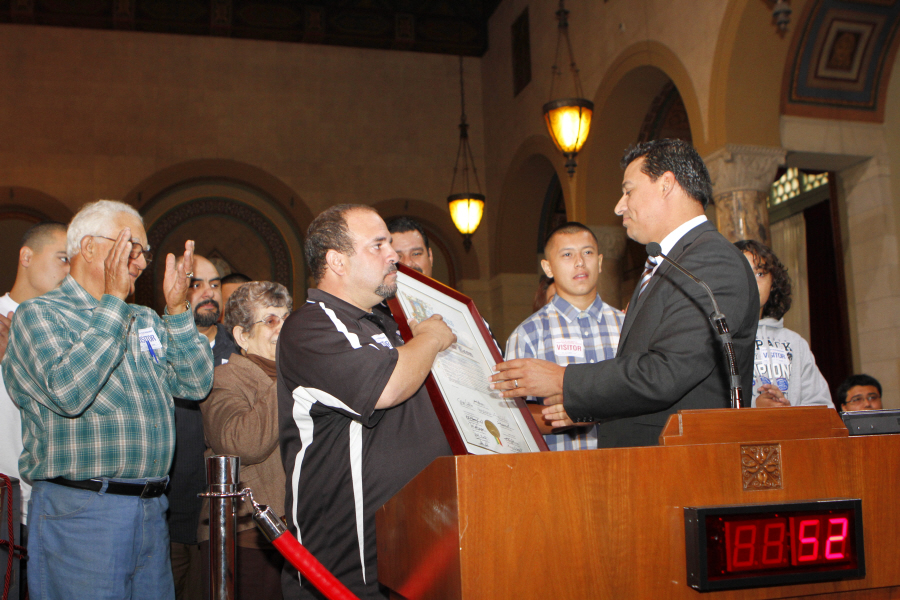 Boyle Heights Wolfpack founder honored by City of Los Angeles