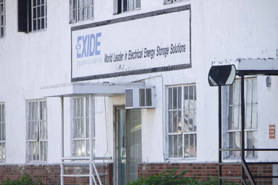 Exide Technologies to conduct sampling for dangerous contaminants