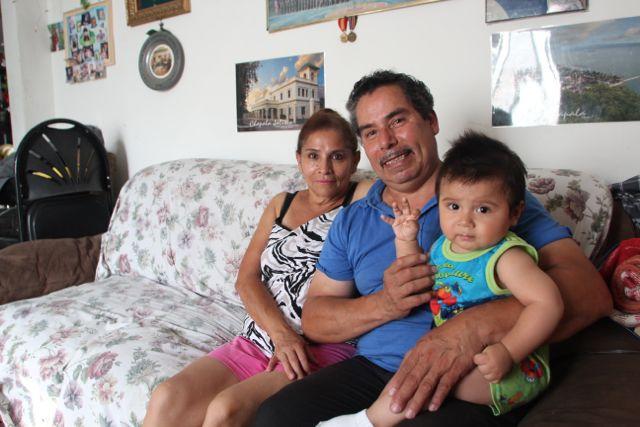 José García and Teresa González recently applied for Medi-Cal at an Alta Med Clinic. Photo by Jonathan Olivares