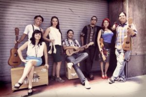 Las Cafeteras uses son jarocho music to tell stories of immigration, equality and justice. Photo by Piero F. Giunti