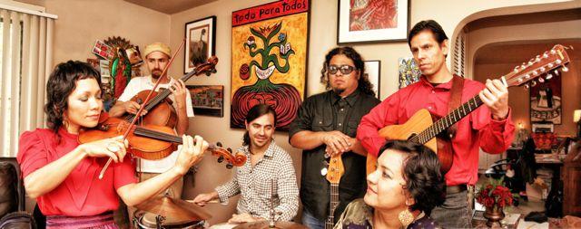 This year, Quetzal won a Grammy for their son jarocho-influeced album.  Photo by Huberto Howard