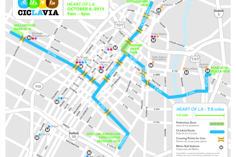 CicLAvia returns to Boyle Heights with 'Heart of L.A.' this Sunday