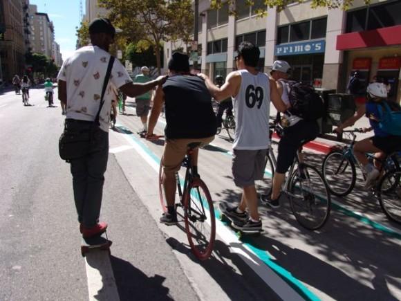Photo Slideshow: CicLAvia rolls through Heart of LA