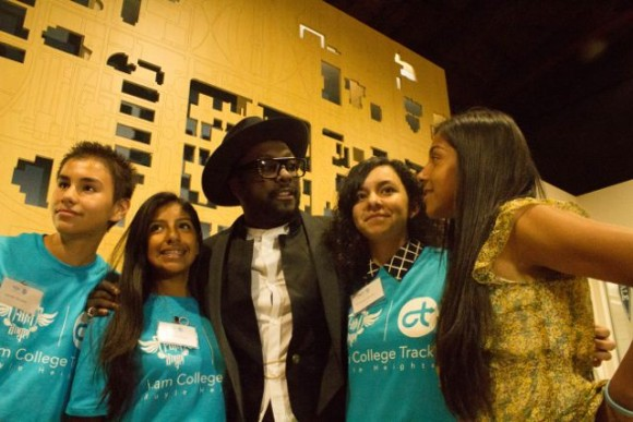will.i.am joins Boyle Heights community at College Track grand opening