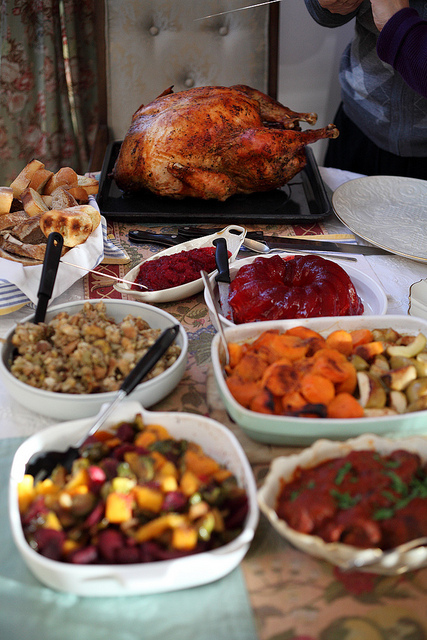 Veggie meals, comedic twists: Boyle Heights Beat youth reporters share their Thanksgiving traditions