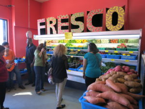 Healthy foods and nutritious snacks are now highlighted at Euclid Market. Photo from PublicMattersGroup.com