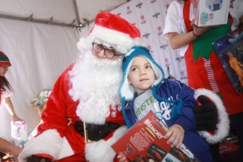 Santa, toys and smiles at the 32nd Annual 'Miracle on First Street' [PHOTOS]
