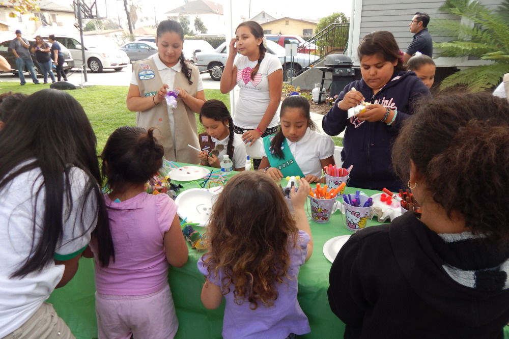 Ramona Gardens' Girl Scouts learn the value of serving their community