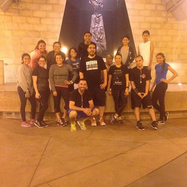 Boyle Heights Bridge Runners promote community health one mile at a time