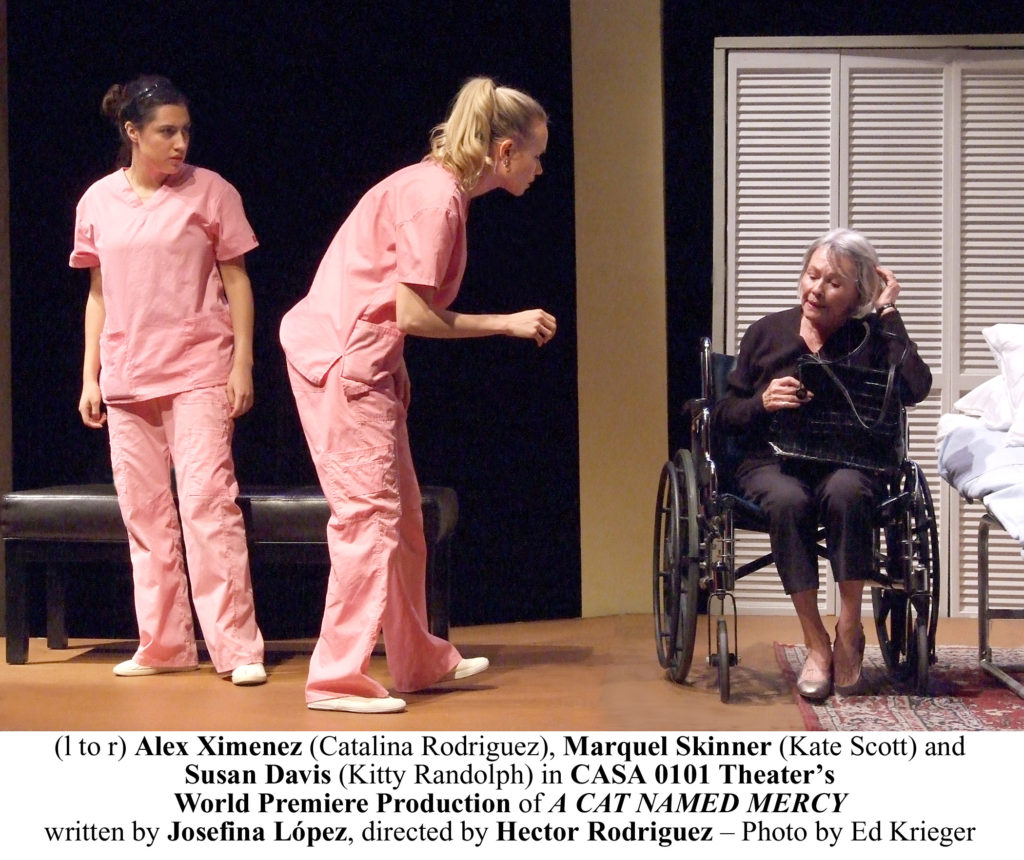 Photo 21 - (l to r) Alex Ximenez (Catalina Rodriguez), Marquel Skinner (Kate Scott) and Susan Davis CNM_B153 copy
