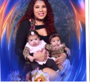 Rosa Chairez with twins Janet and Veronica Felix. Credit LAPD