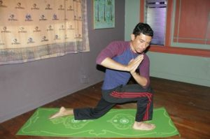 Juan Larios has been teaching yoga for over 10 years in East Los Angeles.