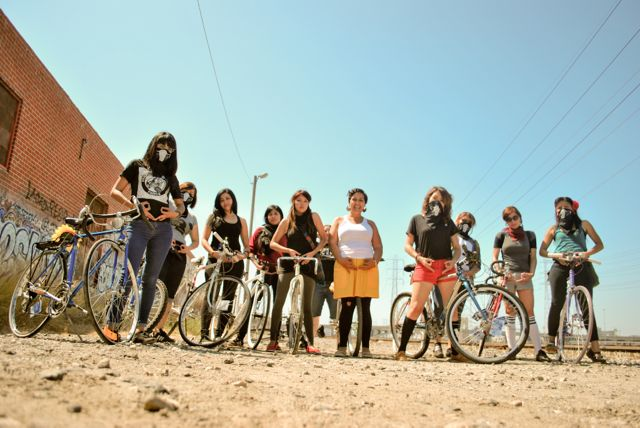 The Ovarian Psyco-Cycles ride for more than just leisure. Photo by Rafael Cardenas