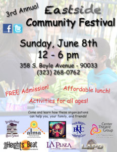 2014 Community Festival Flyer