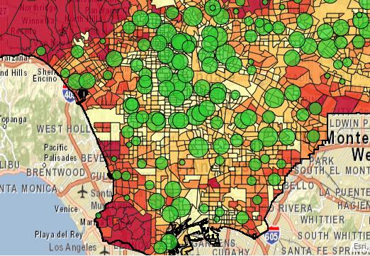 Roosevelt High School students map social inequalities