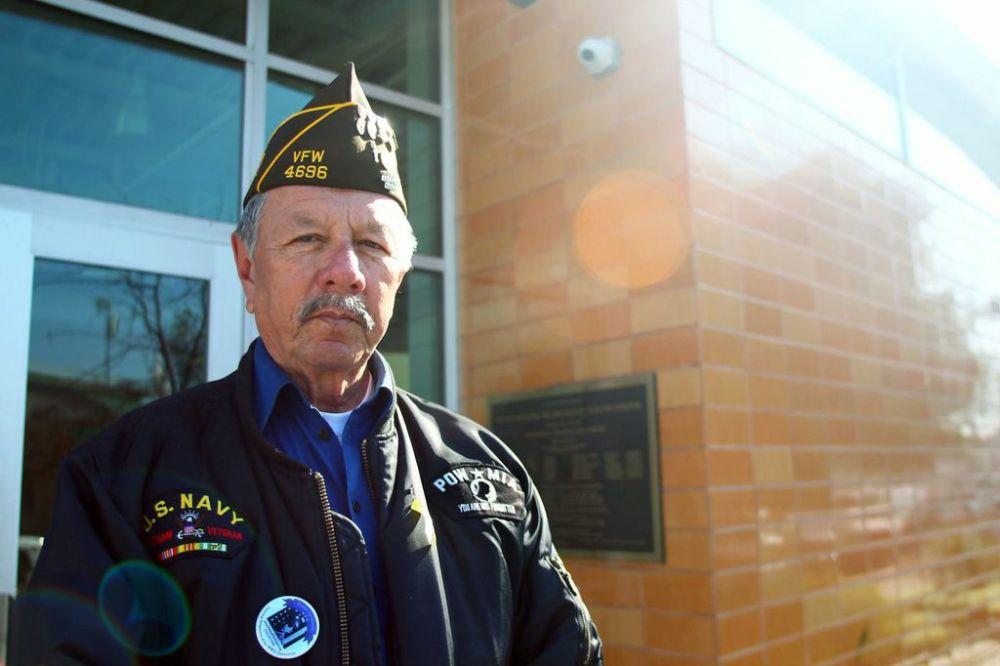 Tony Zapata fights for veterans, promotes patriotism