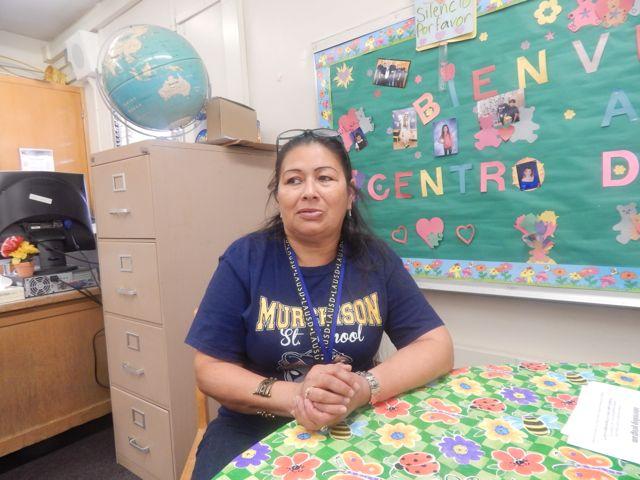 mom Rosario Moran