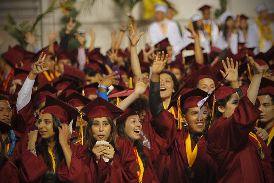 """'Teacher of the Year' to the Class of 2014: """"Our community needs role models"""""""
