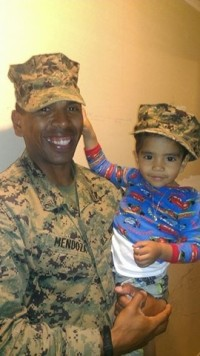 Father's Day: Deployed last year, father happy to be home with son in Boyle Heights